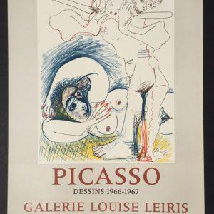 Picasso Dessins 1966-1967 Galerie Louise Leiris