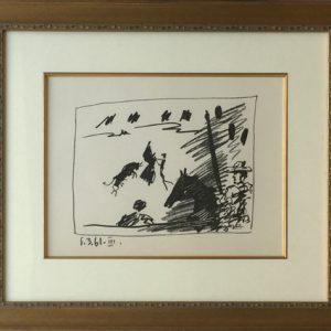 Picasso Los Toros - Jeu de la CapeB.1015
