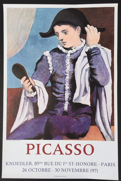 Picasso Poster Galerie Knoedler
