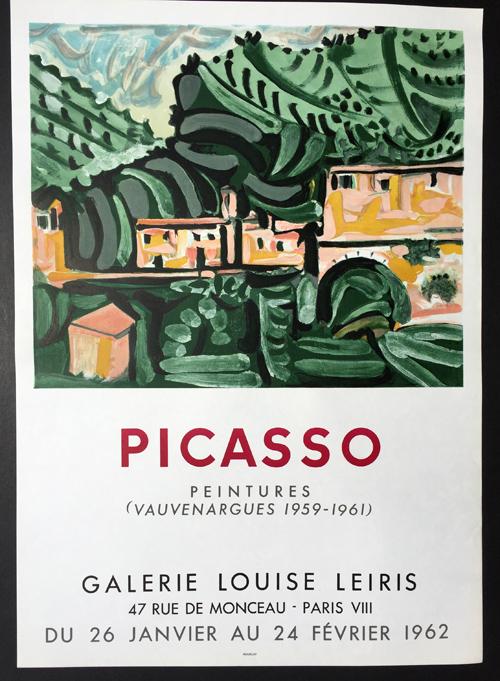Picasso Poster Peintures - Vauvenargues 1959-1961