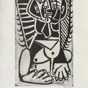 Picasso XIII Salon de Mai Torse de Femme