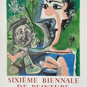 Picasso Sixieme Biennale de Peinture Menton