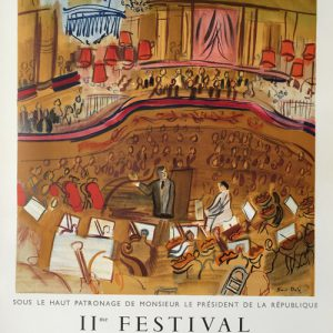 Raoul Dufy Poster - IIe Festival de Peinture et Sculpture