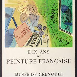 Raoul Dufy Dix Ans de Peinture Francaise