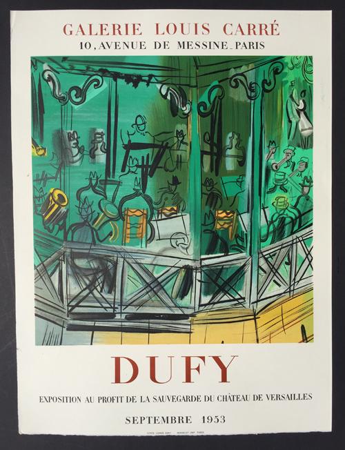 Raoul Dufy Galerie Louis Carre- Septembre 1953