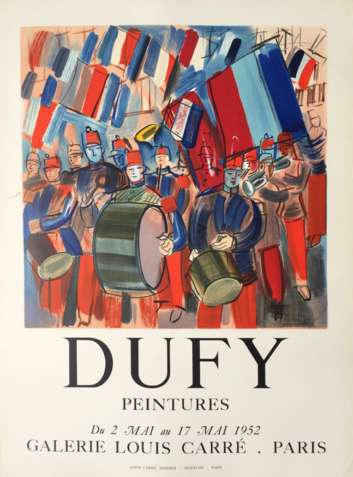 Raoul Dufy Poster Peintures