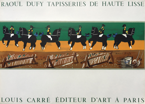 Raoul Dufy Poster Tapisseries de Haute lisse