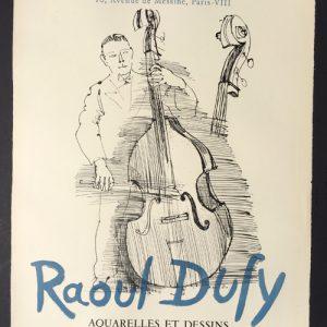 Raoul Dufy Poster Aquarelles et Dessins