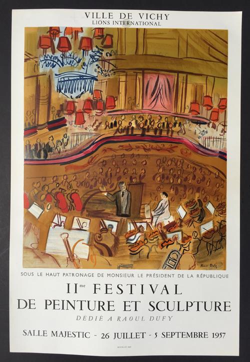 Raoul Dufy Poster – IIe Festival de Peinture et Sculpture