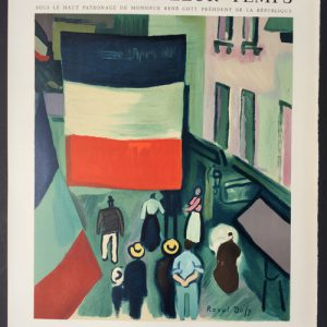 Raoul Dufy Poster Musee Galliera