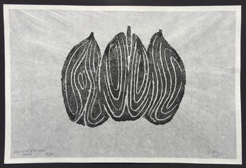 Raoul Ubac Engraving Les Fruits II