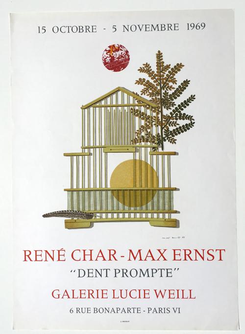 Rene Char - Max Ernst Poster