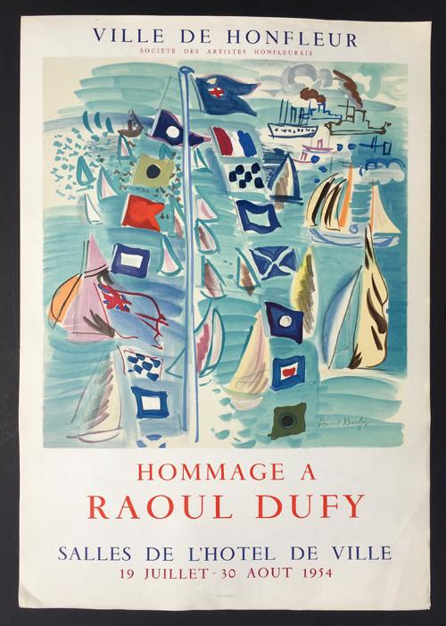 Ville de Honfleur – Hommage a Raoul Dufy