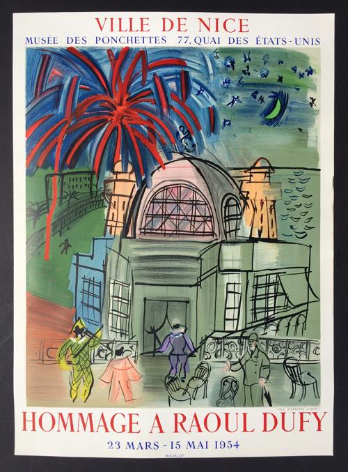 Ville de Nice - Hommage a Raoul Dufy