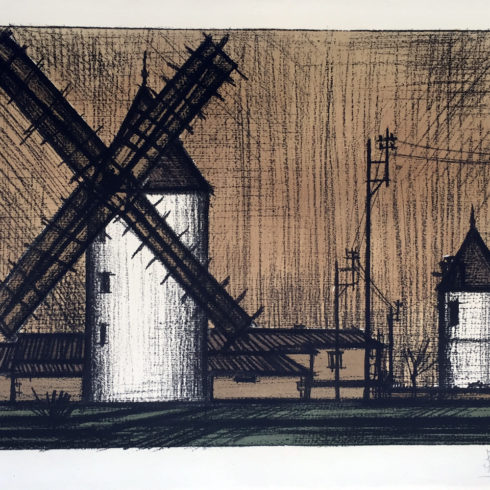 les moulins by bernard buffet