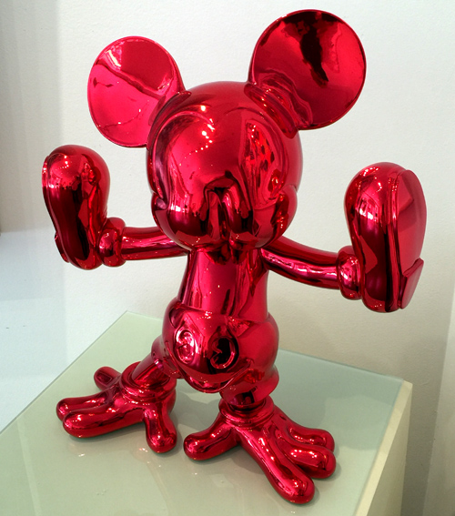 freaky mouse red by fidia falaschetti