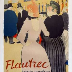 Henri Toulouse Lautrec Poster Galerie Ponchettes