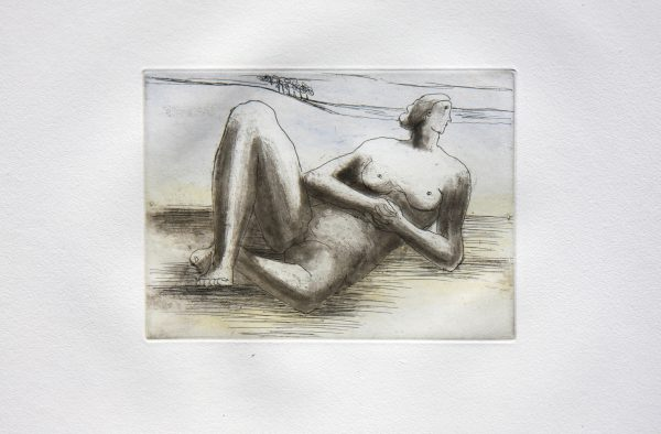 The Reclining Figure (Plate 8)