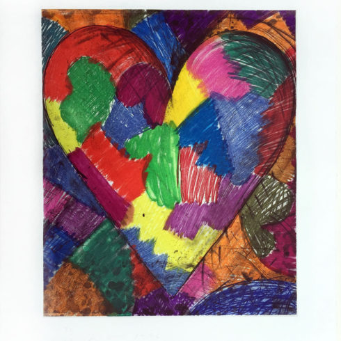 a beautiful heart by jim dine