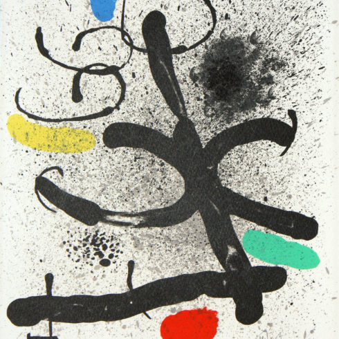 cahier ombres by joan miro