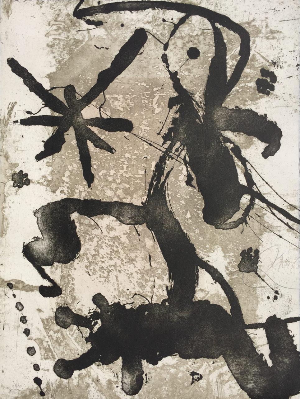 rupestres I by joan miro