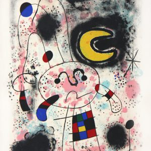 Joan Miro Galerie Pierre Matisse Lithograph