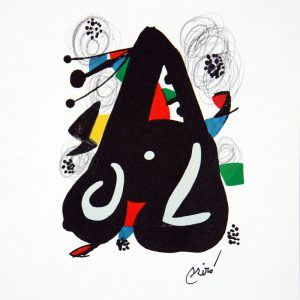 Joan Miro Melodie Acide 1220 Lithograph