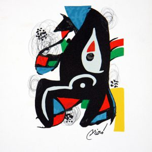 Joan Miro Melodie Acide Lithograph 1221