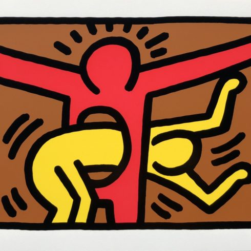 pop shop iv by keith haring