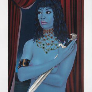 La Femme avec un Couteau