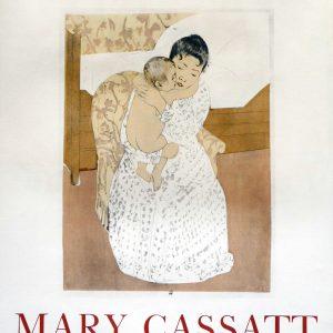 Mary Cassatt Lithograph Poster Peintre et Graveur