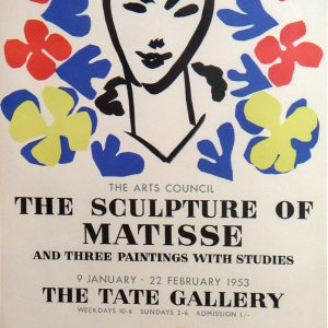 Sculpture of Matisse – Tate Gallery