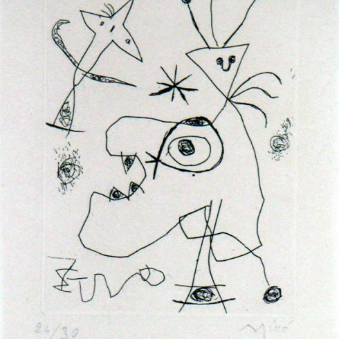 laigrette by joan miro