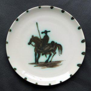 Pablo Picasso Ceramic Picador Plate