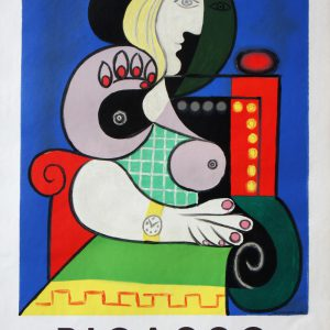 Pablo Picasso Lithograph Poster Galerie Beyeler Bale
