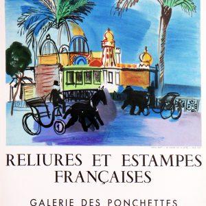 Ville de Nice- Reliures et Estampes Francaises
