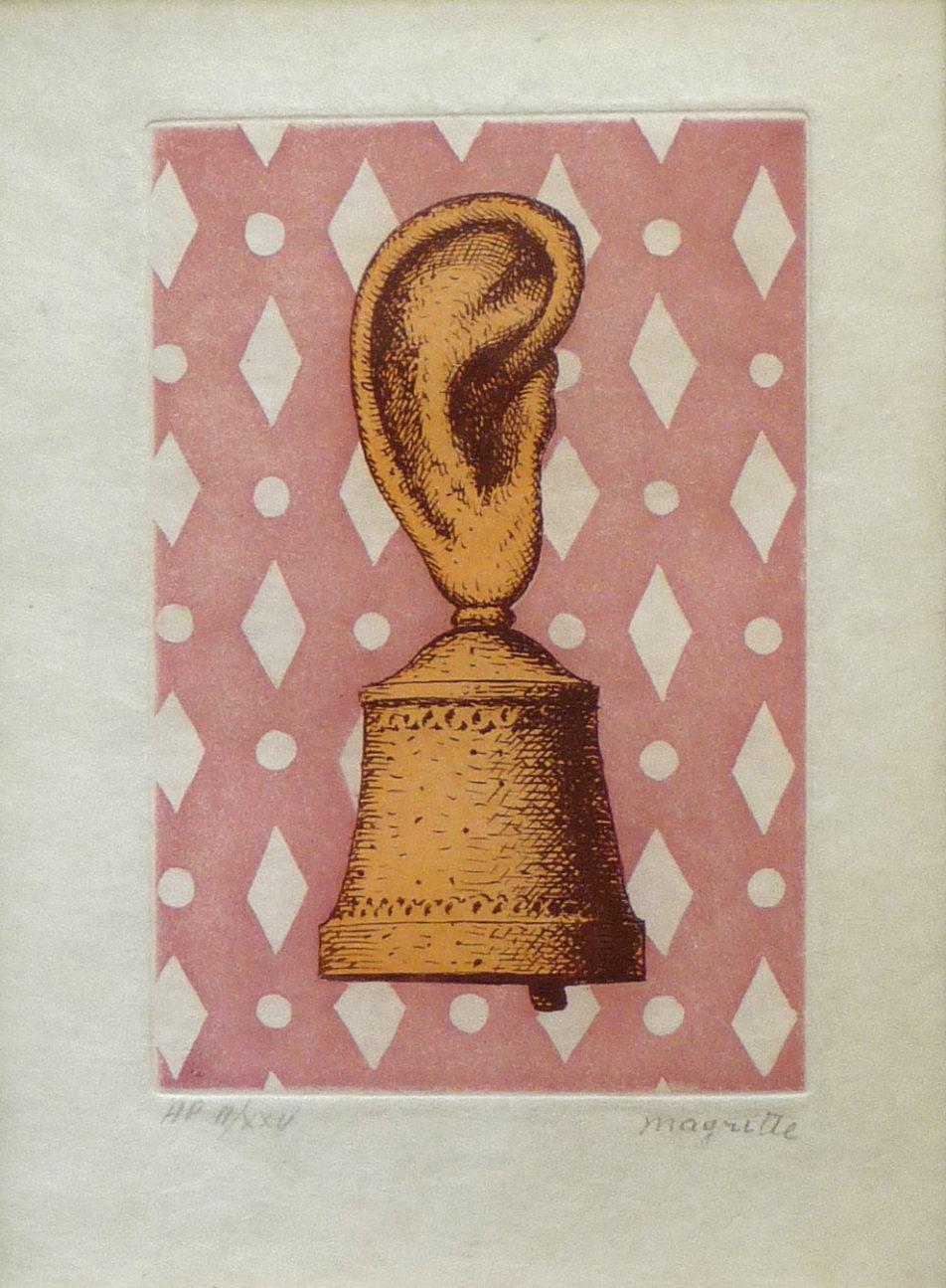 la lecon de musique by rene magritte