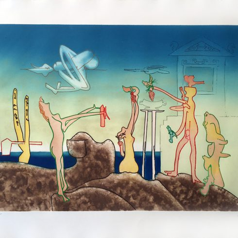 12AM - L'Arc Obscur Des Heurs by Roberto Matta