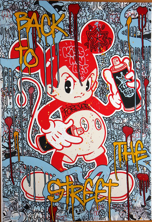 back to the street by speedy graphito