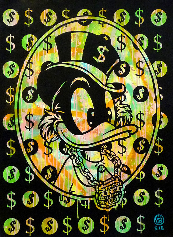 street art makes my day by speedy graphito