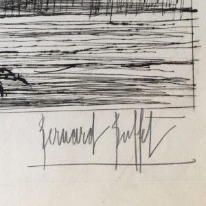 Bernard Buffet Art Signed