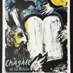 Chagall Moise et les Tables Musee Rath