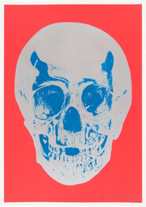 Damien Hirst Til Death Do Us Part Coral Silver