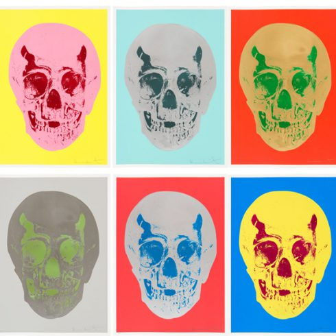 till death do us part by Damien Hirst