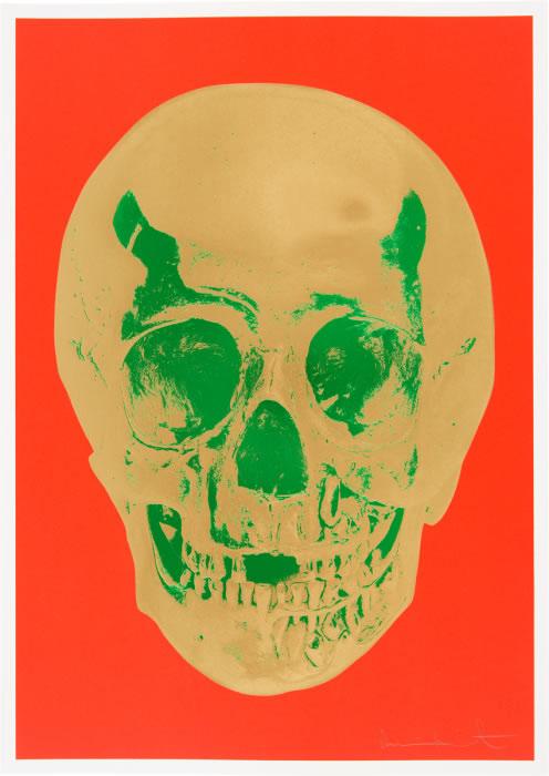 Hirst Till Death Do Us Part Orange Gold