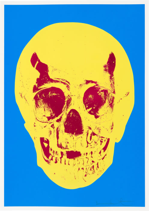 Hirst Till Death Do Us Part Yellow Blue