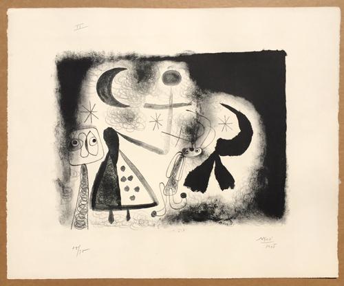 Joan Miro Album 13 Mourlot 77