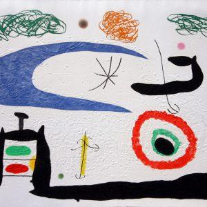 Joan Miro Dormir Sous la Lune