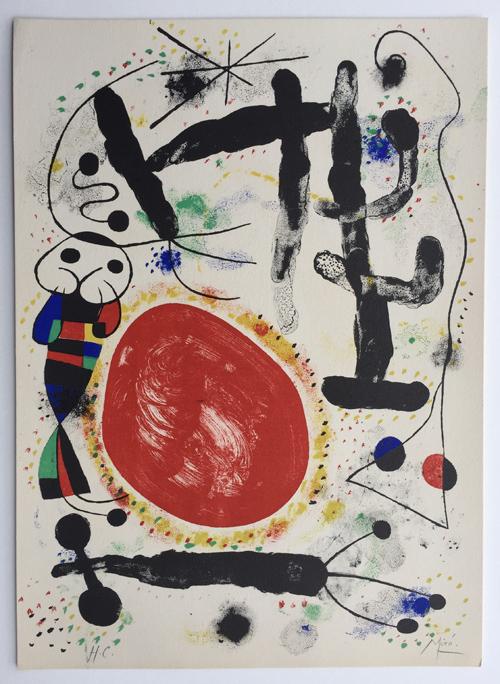 Joan Miro Le Jour Mourlot 128