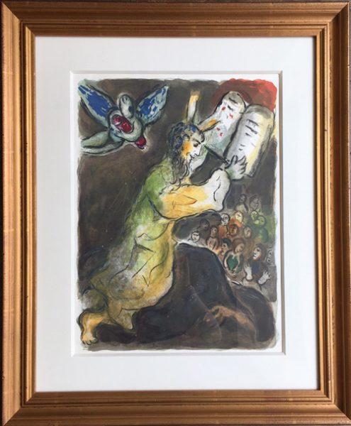 Marc Chagall Exodus Mourlot 463